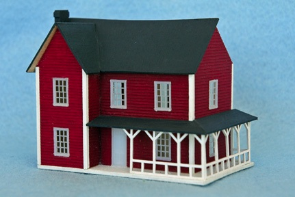 Scale model home kits